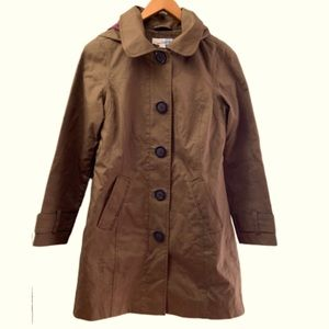 Boden rainy day Mac fleece lined trench